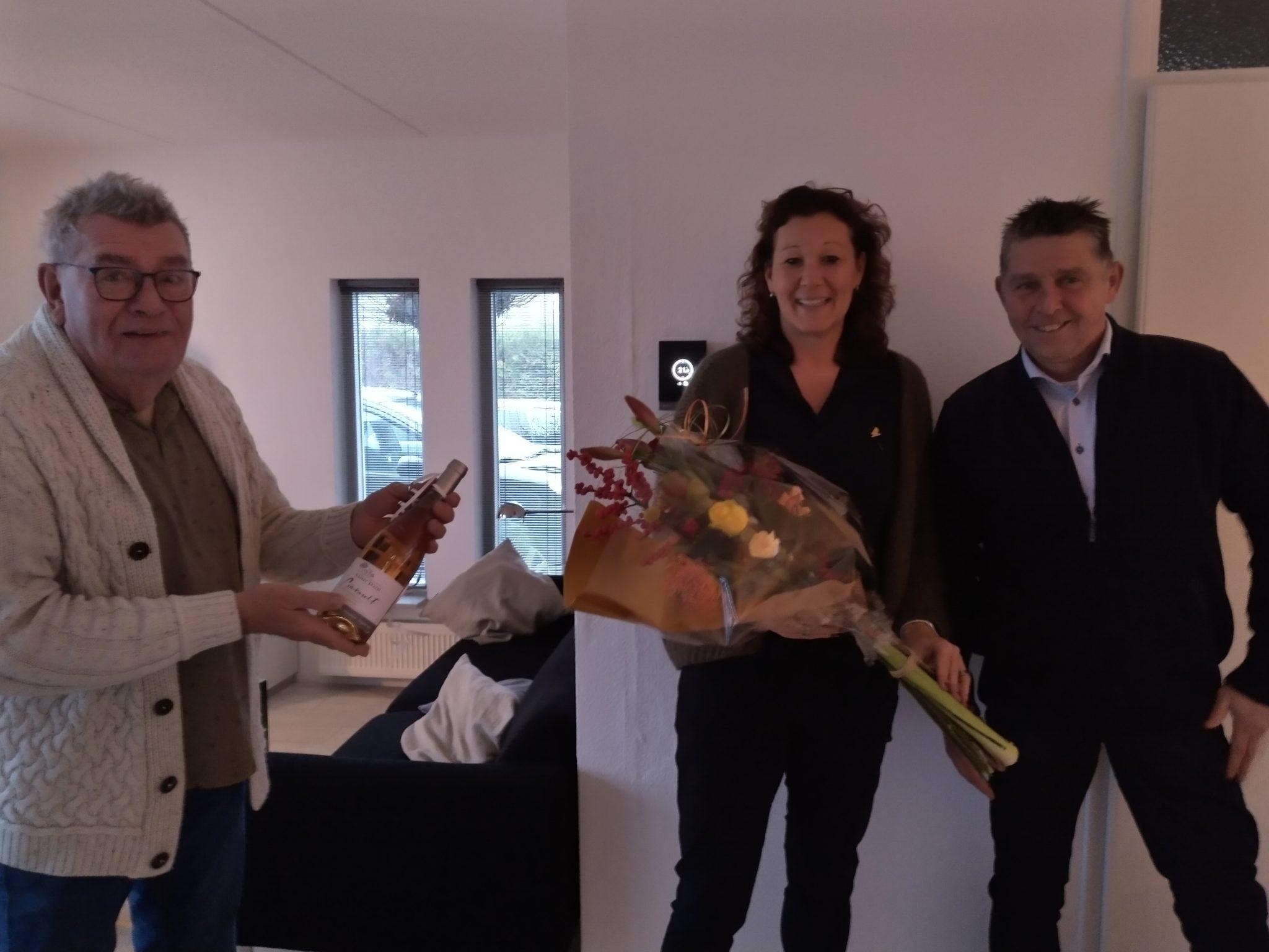 Hanneke de Vries erelid GAVC