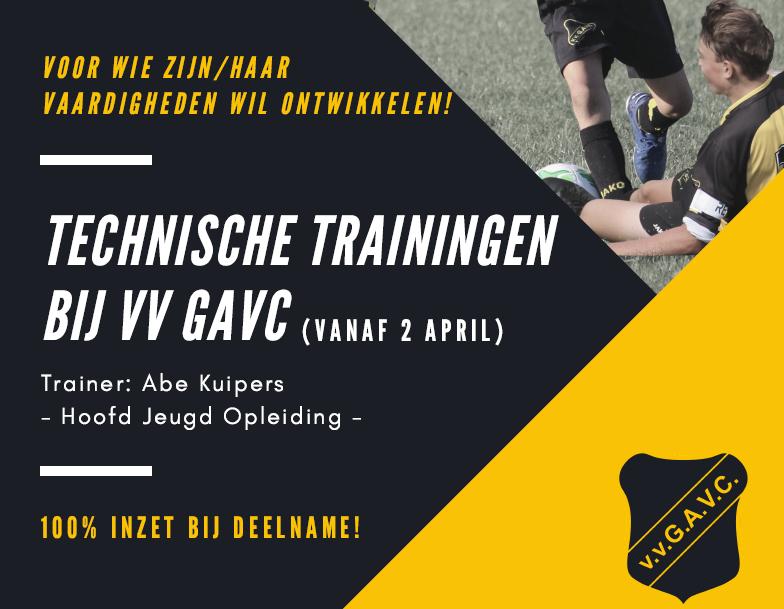 Technische trainingen GAVC